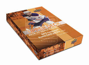 2016-17 Upper Deck Series 1 Hockey Hobby Trading Cards Box