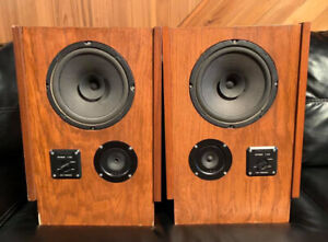 Vintage Realistic Optimus T-100 Speakers