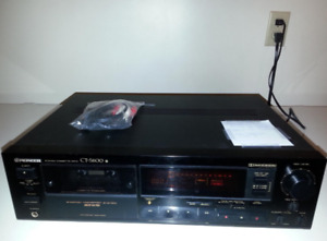 PIONEER CT-S600 CASSETTE DECK USED
