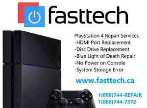 PS4 Repairs - HDMI Port | Disc Drive | Storage Not Found | Restore Error | Controllers Not Connecting