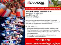 Small Vessel Operator Proficiency (SVOP), Parry Sound