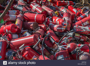 WANTED.... OLD BROKEN FIRE EXTINGUISHERS
