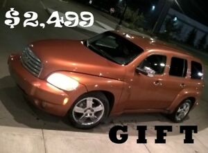 $2500 at Lowest ........ 2 Chevy HHRs ...... + ...... $2500 GIFT