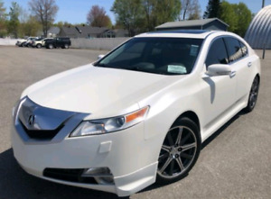 Acura TL 2009 SH-AWD Model Tres Rare Garantie Finance 12 995$