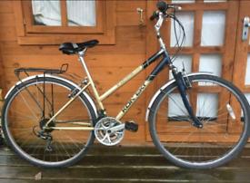 """Kontek unisex hybrid bike. 19"""" frame. 700cc wheels fully working"""