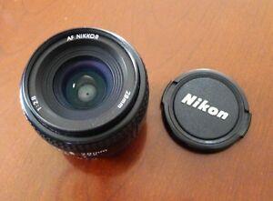 Nikon 28mm f2.8 AF Nikkor Lens