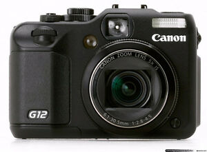 Used Canon G12 in mint condition for sale