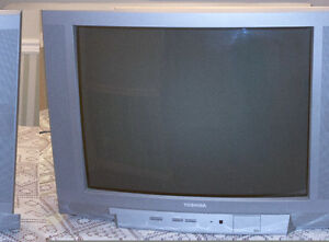 "Toshiba 27"" standard definition TV"