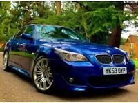 FULLY LOADED 2009 BMW 530D 3.0 LCI M SPORT - LE MANS BLUE INDIVIDUAL / 335d 535D