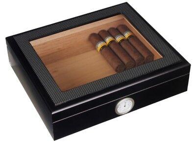 Angelo Zigarren Befeuchter Acylpolymer Profi Chrom für Humidore bis 80 Zigarren