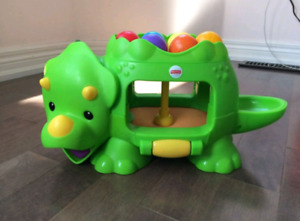 Fisher Price Ball Popping Dinosaur