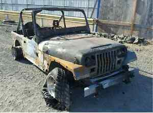 looking for Jeep Wrangler yj running or not