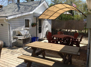 Grand bend 1 and 2 bedroom cottages for rent