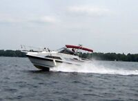 1988 Carver 27 Montego, 10 ' wide, Double Cabin Fresh Water Boat