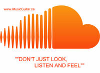 "Looking for a Guitar? """"DON'T JUST LOOK, LISTEN AND FEEL"""""