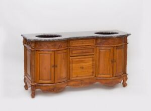Teak Antique Vanity