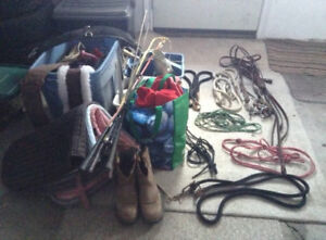 HORSE TACK AND ITEMS NEED TOO GITTY UP AND GO