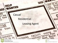 Casual Residential Leasing Agent *** You pick your own schedule!