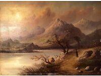 Victorian Landscape Circa 1870