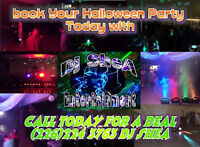 Book your Halloween party Dj Today