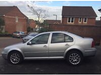 2004 VW BORA HIGHLINE 1.6 AUTO VERY LOW MILEAGE FSH VOLKSWAGEN AUTOMATIC DRIVES EXCELLENT