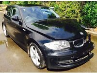 BMW 116i sport damaged repairable starts and drives