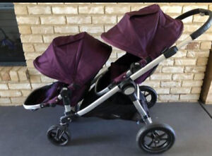 Amethyst  city select double stroller