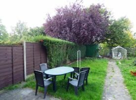 Garden Plastic Table and Chairs (£5)