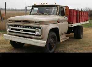 wanted 1960 to 66 chevy gmc c 40 - 50 - 60