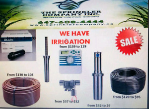 Please buy Professional Irrigation and Lighting parts