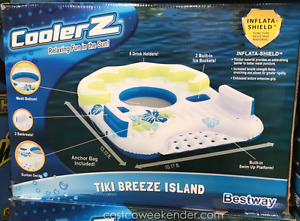CoolerZ TIKI BREEZE island float