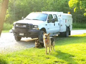 2004 Ford F450 XLT Crew Cab Dually Service Truck