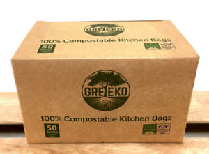 100% Compostable garbage bags