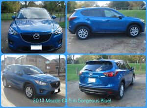 2013 Mazda CX-5 GS AWD SKYACTIV/NAV/CAMERA/BLUETOOTH/HTD SEATS