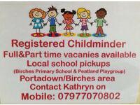 NICMA Registered Childminder