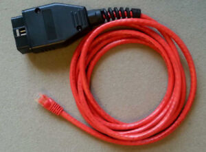 BMW Enet OBD2 E-sys Coding F-series Ethernet Cable