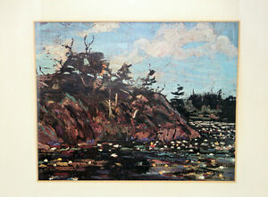 "Tom Thomson Print ""The Lily Pond""  Group Of 7 Artist Kingston Kingston Area image 2"