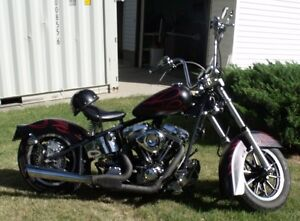AB Inspection done Custom Harley will trade for Hot Rod