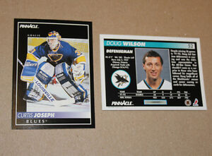Score Pinnacle 1991-92 hockey cards