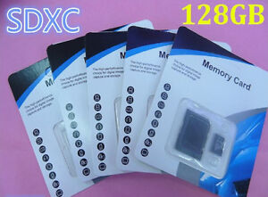 NEW! 128GB Micro SD/TF Class 10 Memory Cards! Huge Sale NO TAX!