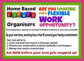Home Based BABY Event Organisers Required in Carmanthenshire