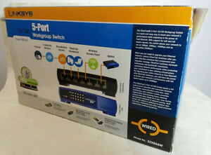 LINKSYS  EZXS55W 5-PORTS 10/100 switches West Island Greater Montréal image 2