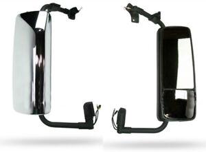 Volvo VNL Truck Chrome Door Mirror Assembly Passenger Side 04-12
