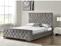 Chesterfield Princess bed frame- single- double- king size, in all colours. NEW!! BEST PRICE