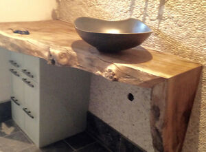 LIVE EDGE SLABS, COUNTERS / VANITIES / FURNITURE - Wood Hippy Co