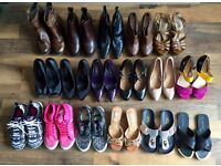 Women's Shoes/Boots -17 Pairs