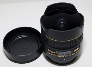 Nikon 10.5mm f/2.8G ED AF DX Fisheye Lens_ Like New