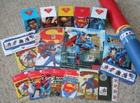 CANADIAN SUPERMAN SILVER COIN & STAMP COLLECTION BRAND NEW