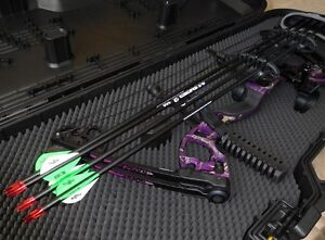 Purple Quest Radical G5 Compound Bow (15-70lb draw weight)
