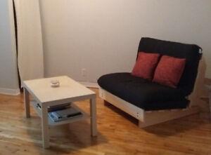 Divan Lit (Sofa Bed) - comme neuf - FUTON D'OR